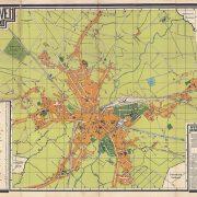 Plattegrond Eindhoven 1925 koker